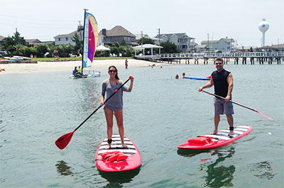 Stand Up Paddleboard | Coastal Adventures with Blockade Runner