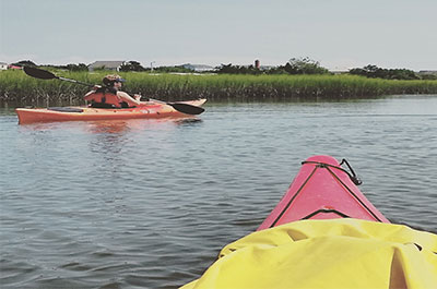 Kayaking | Coastal Adventures with Blockade Runner