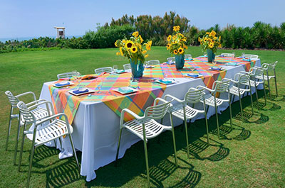 Garden and Lawn Events | Meetings & Corporate Events at Blockade Runner