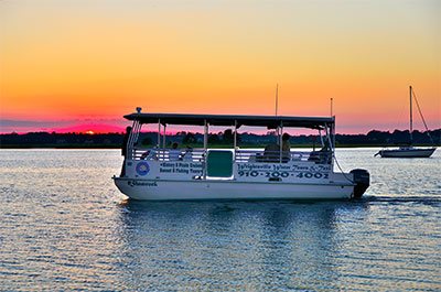 Scenic Boat Tours | Coastal Adventures with Blockade Runner