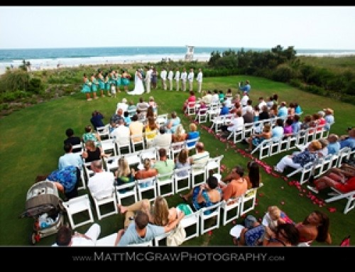 Ceremony On The Br Lawn