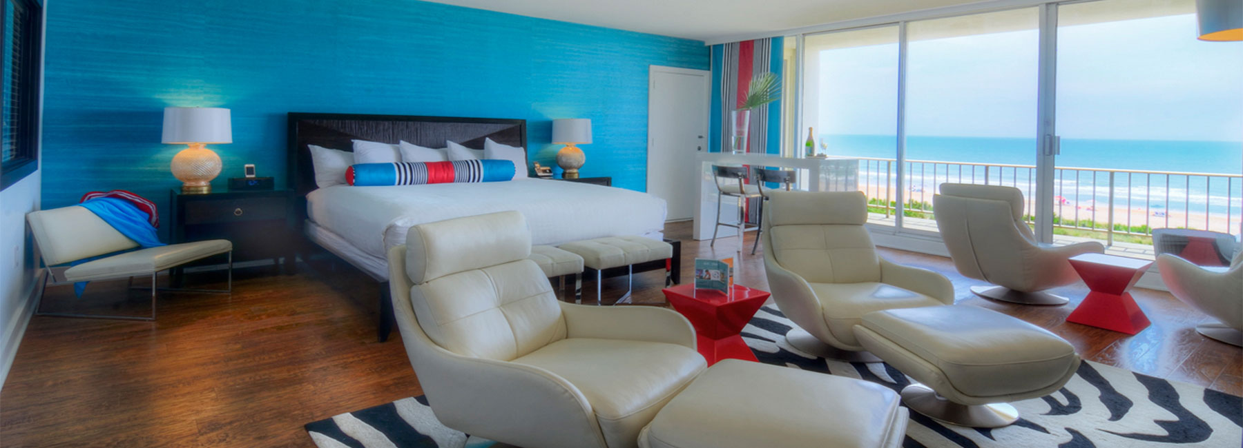 Oceanfront Stateroom | Rooms and Suites at Blockade Runner