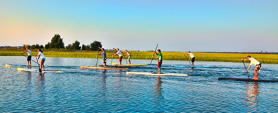 Stand Up Paddleboard at the Blockade Runner