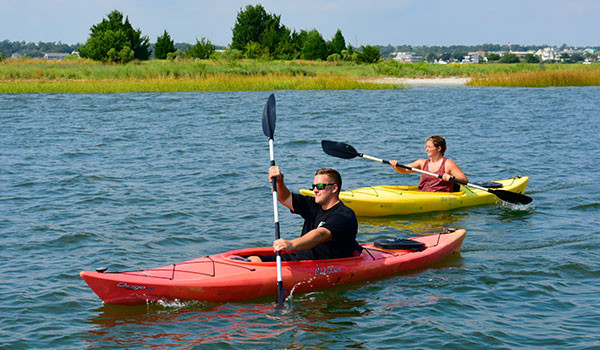 adventure packages water sports kayak paddleboard SUP hotel